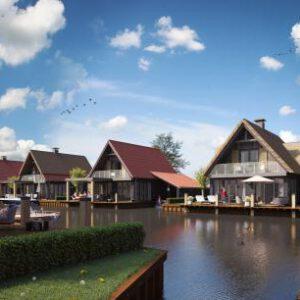 Watervilla Waterstaete Ossenzijl 2