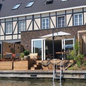 Watervilla Waterfront Holiday Home Alkmaar - 7p